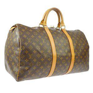Louis Vuitton Keepall 50 Travel Hand #5266L50B
